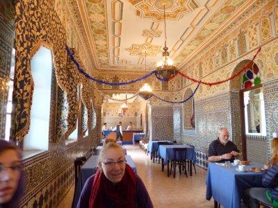 Tangier: Hotel Continental Breakfast Room