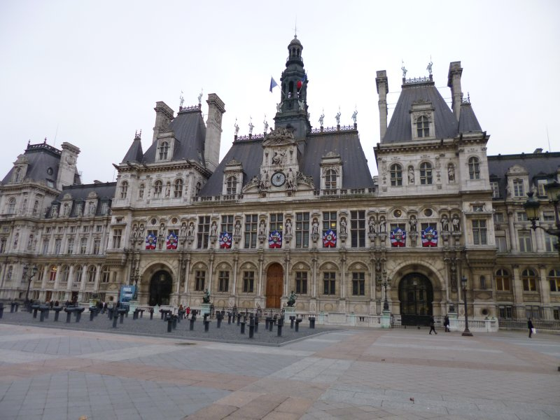 002 Paris 038 Hotel de Ville City Hall