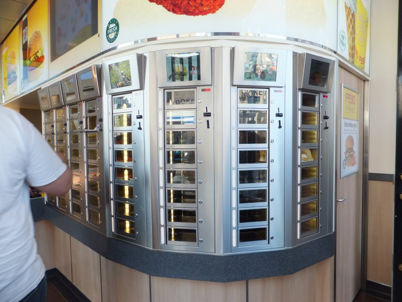 Coin Operated Restaurant