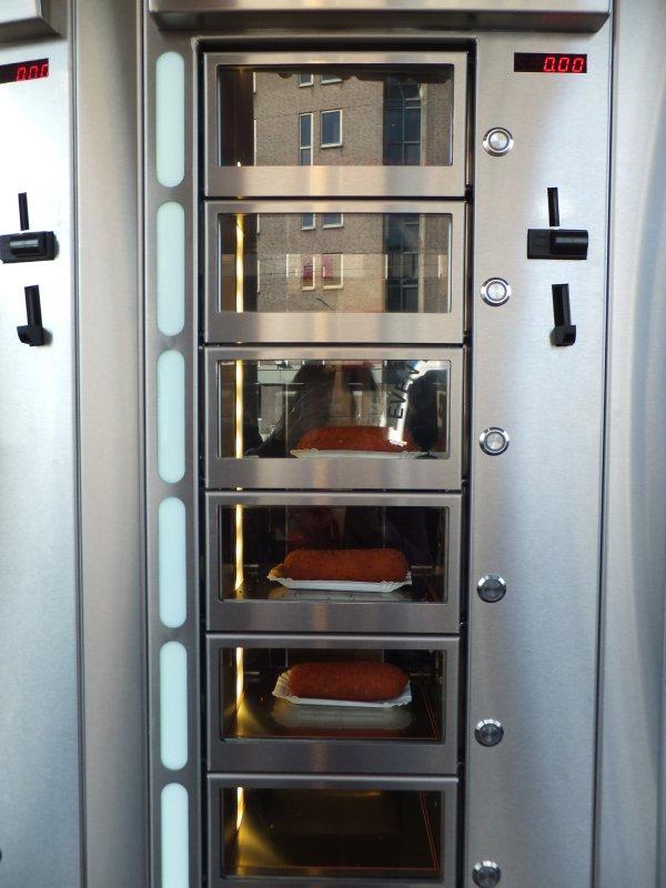 Hot Croquette Dispenser