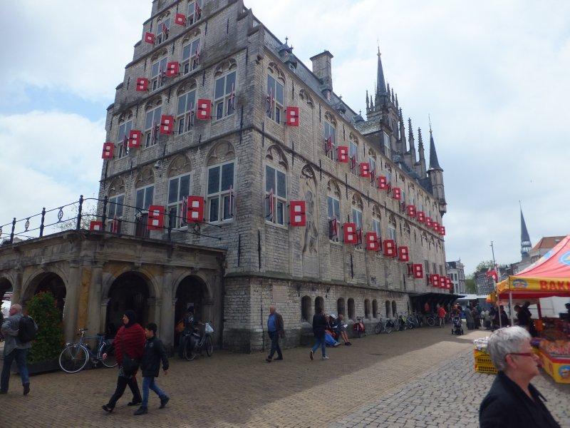 15th Century Stadhuis in Gouda