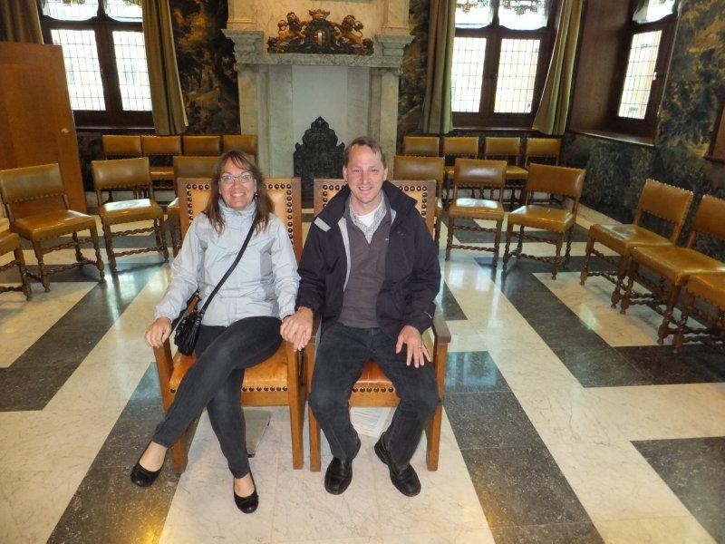 Getting Married in Gouda Stadhuis