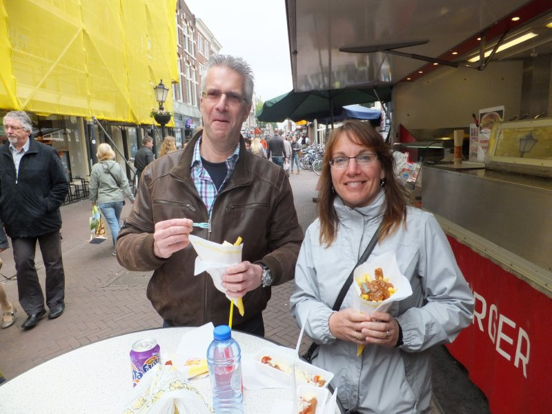Fast Food Dutch Style with Cousin Jan