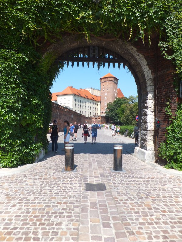 Entry Gate to Wawel Hill