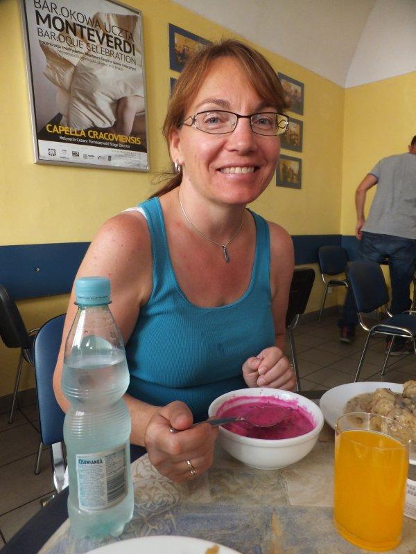 Eating Borscht at Bar Mleczny