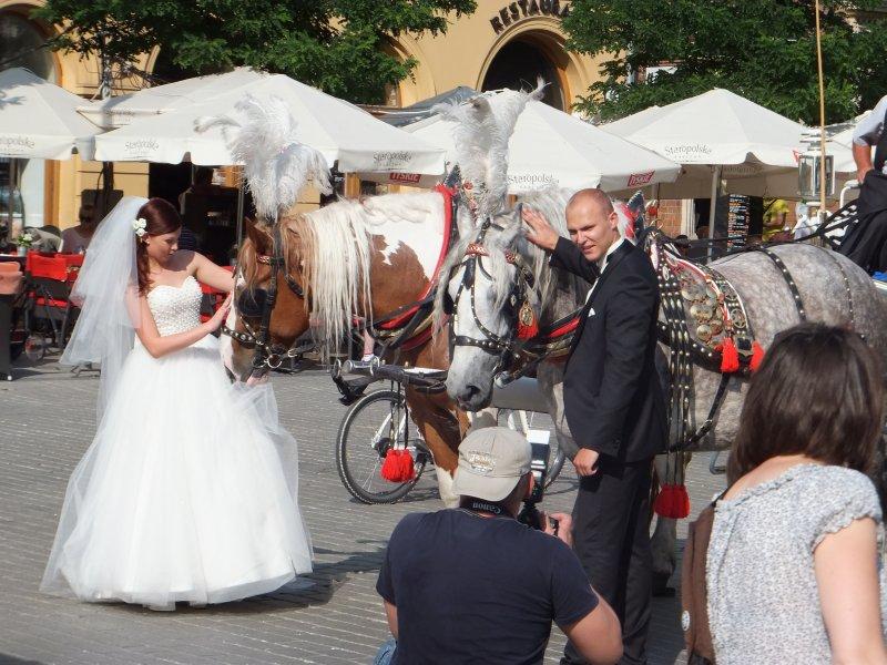 Conflicted Bride in Krakow
