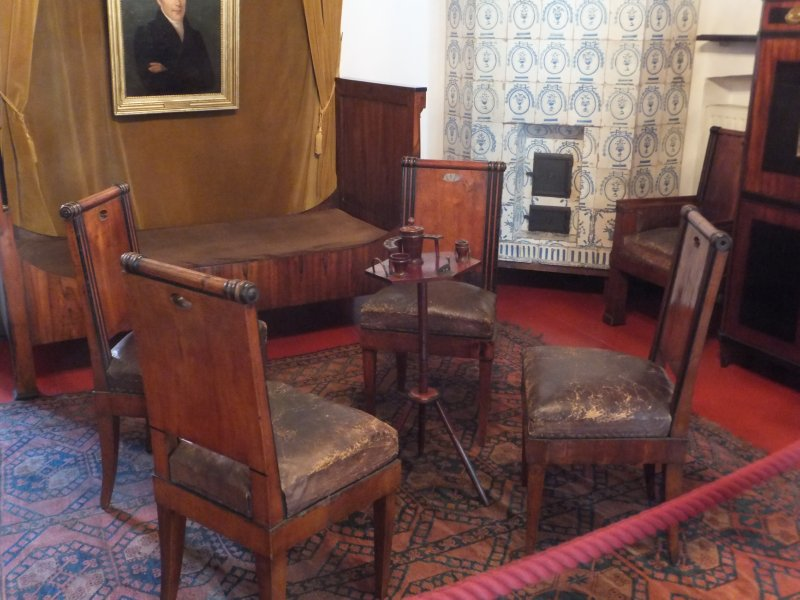 Cigar Table in Rector's Office