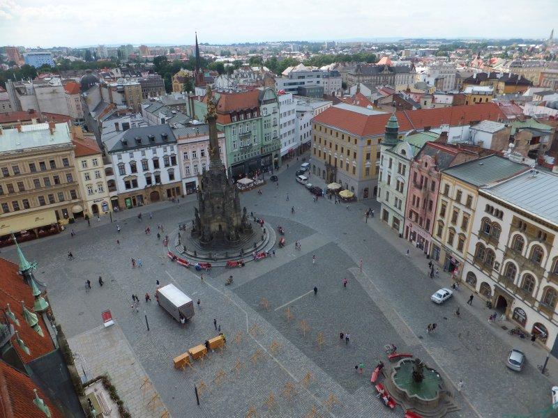 Olomouc's Main Town Square
