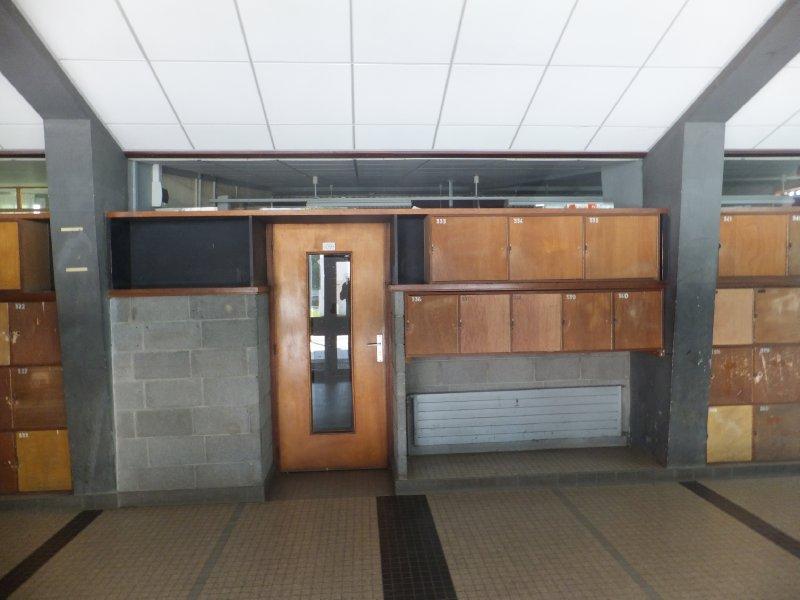 The Lockers at Hannah's School in Nancy