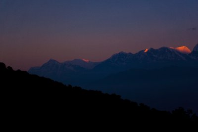 Golden Annapurna Range