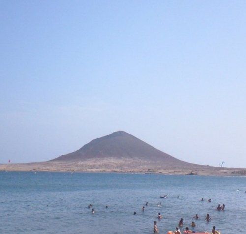 El Médano and Red Mountain