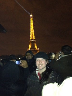 New Years at the Eiffel Tower