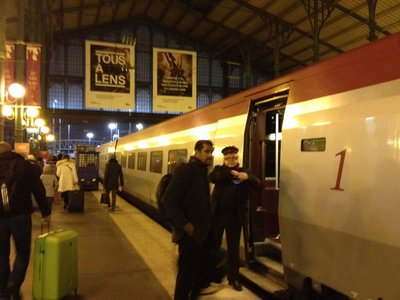 Train from Paris to Amsterdam