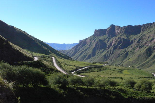 Cuesta del Obispo - Salta (Bishop slope)