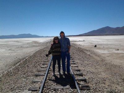 train tracks to Chile!