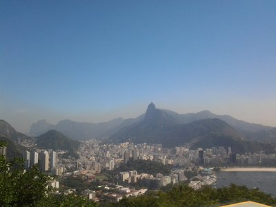 view of christ from sugarloaf