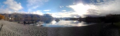 stop off at lake Wanaka
