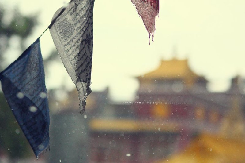 Rains in Kathmandu