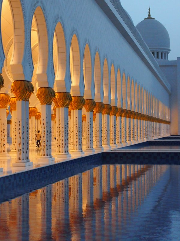 Reflections of Sheikh Zayed Mosque