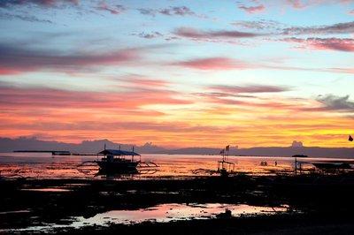 Sunset Bohol Philippines