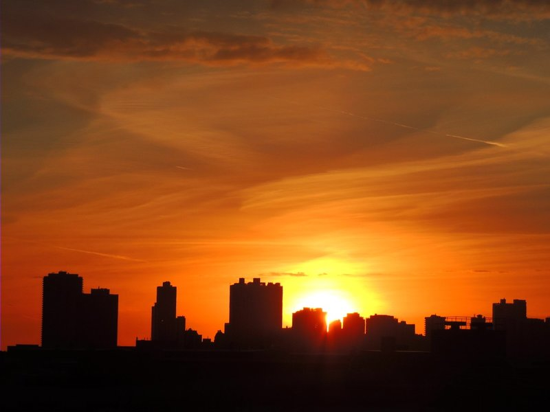 Sunrise In The City
