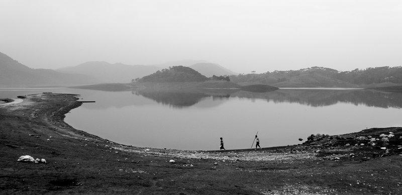 Fishing at Bada Pani Lake