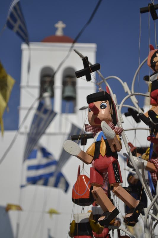 Pinocchio in GREECE