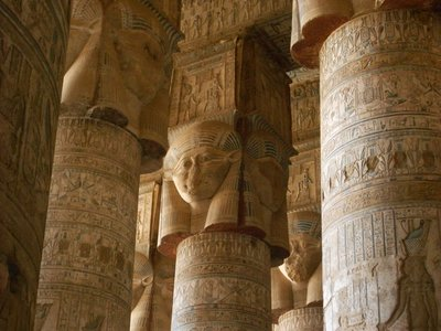 Egypte--Dandara-Tempel van Hathor (8)