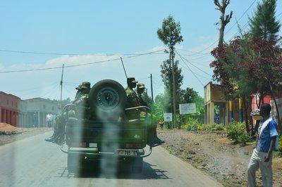 Enige verhoogde militaire activiteit in het grensgebied van Congo, Rwanda en Oeganda
