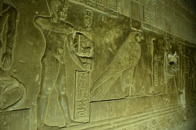 Egypte--Dandara-Tempel van Hathor (5)