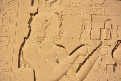 Egypte--Dandara-Tempel van Hathor-Cleopatra