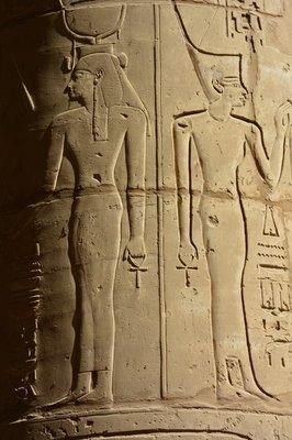 Egypte--tempel Karnak-2