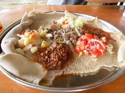 Ethiopische Injera