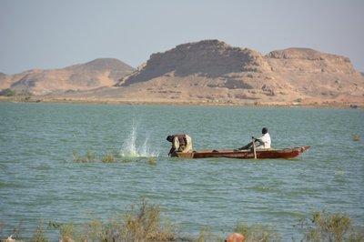 Lake Nubia--vissers