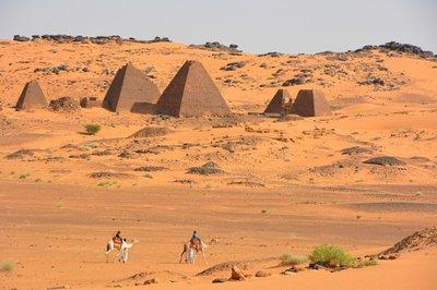 Sudan--Pyramides van Meroe