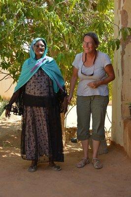 Wadi Halfa--Anneke en Betsia