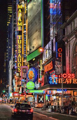 Neon Lights NYC