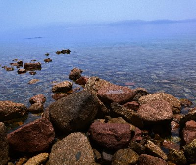 Dahab shore, Egypt