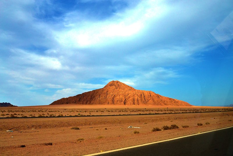 driving through sinai