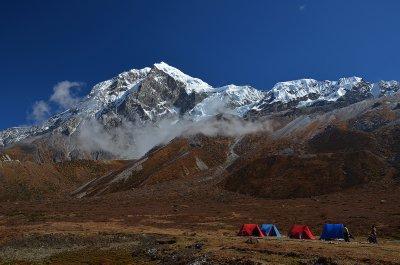 Tents at Lamuney