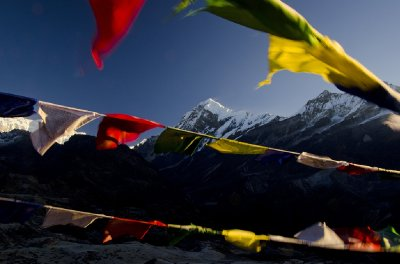 Through Prayer Flags