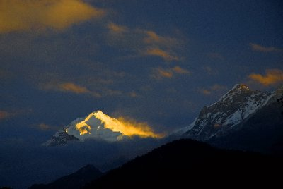 First Light On Mt. Pandim