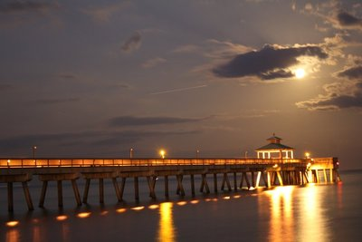 Full Moon at Deerfield Beach