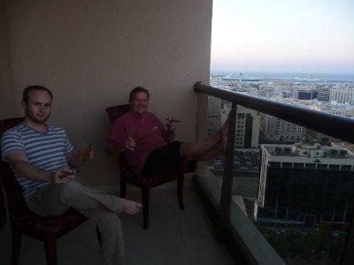 Scotch and a cigar - ahh, the good life!