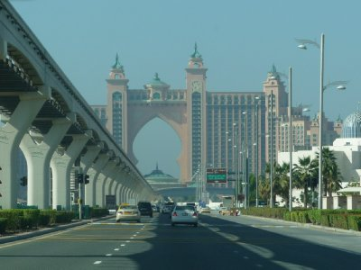 Another view of Ibn Battuta Mall entrance