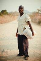 Malawian Peanut Farmer