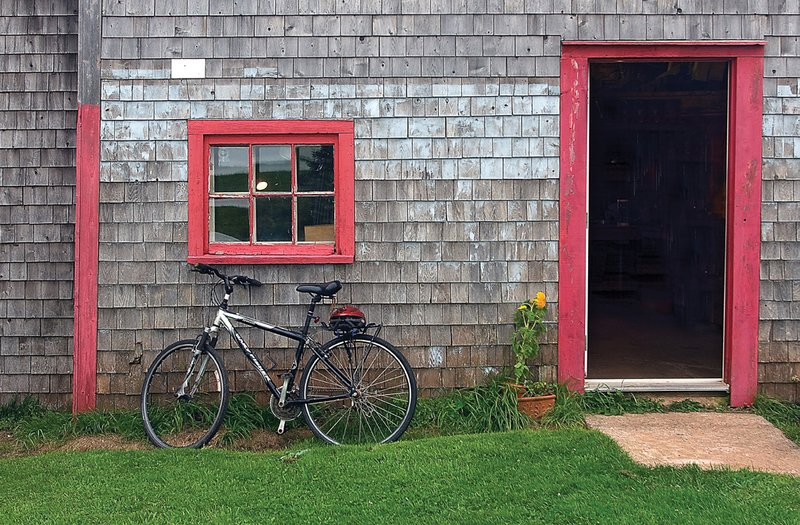 Bike at Barn