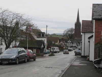 Weobley - The Black and White Village