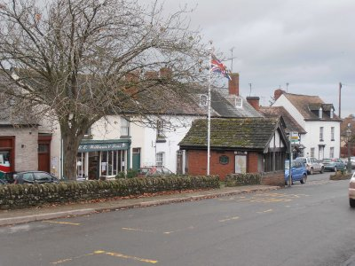 The Main Street in Weobley