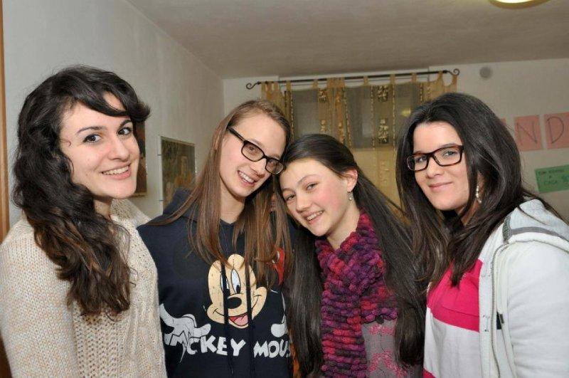 Irene, Elena, Me, Anna